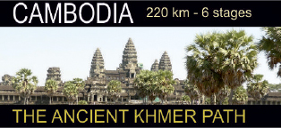 Cambodia 220 km - 6 Stages The ancient Khmer path
