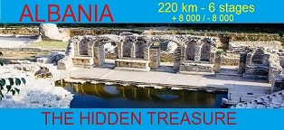 Albania 220km 6 stages The Hidden Treasure