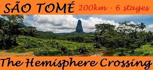 Sao Tome 200km 6 stages The Hemisphere Crossing